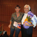 1. Vorsitzende Evelin Hensel dankt Schwester Jubilata