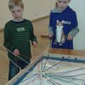 Teamwork mit höchster Konzentration