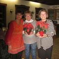 Dank an die Kassenprüferinnen von Evelin Hensel (links)