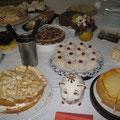 Kuchenbüfett