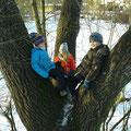 Kinder im Baum