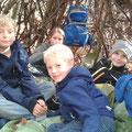 Gemütlich in der Waldhütte