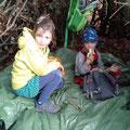 In der Waldhütte
