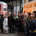 Vernissage Fahrzeugremise Gedser- Foto privat