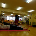 pilates workshop at ohana hula studio 2011/10