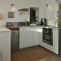 Les Lipias - Ansicht der Kücheneinrichtung