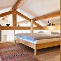 Bastidon - die Mezzanine mit Doppelbett