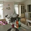 Les Lipias - Zugang zum Schlafzimmer und Bad rechts ...