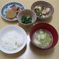 麻婆豆腐と大根の煮しめ