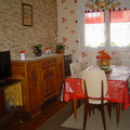 Salle à manger - Gite Chateau-Thierry - Azy-sur-Marne