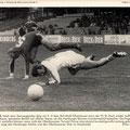 aktuelle 3 22/74: Nach dem überzeugenden Sieg mit 3:0 über Rot-Weiß Oberhausen…; Bilderdienst Verlag