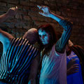DIE TURMMASCHINE Eine lebende Installation, Aufführung von So. 01.11.2020, Foto: Ben John