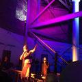 Pastor Leumund mit Mittekill im Wasserturm MA | INDUSTRIETEMPEL  | Foto: Raimund Bäcker