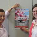 Iris Raske (li.) und Susanne Weber im Büro in der CDU-Kreisgeschäftsstelle