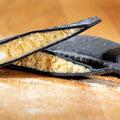 Ravioloni mit Hummer Füllung, schwarz