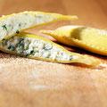Ravioloni mit Käse-Rucola Füllung