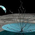 Sculpture sur la Lune - Anilore Banon