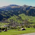 Dorf Lenk vom Bühlberg