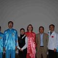 Gruppenfoto zusammen mit den Meistern