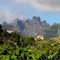 L'intérieur de Madère : pour ceux qui connaissent Tahiti, on dirait le Diadème !