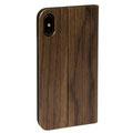 WOLA iPhone Hülle Holz Klapphülle Flip kamera