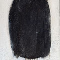 The Beautiful Healing Tree - Black, 2014, acrylic on canvas, 30 x 20 cm