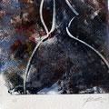 Monotipia _ óleo sobre papel arche_ 15 x 15  cm_ 2011
