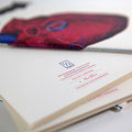 """Caderno Personalizado A5  """" Fruto Vermelho""""- Edição Limitada e numerada"""