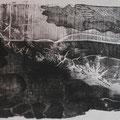 """Die Höhle""     Holzschnitt, 38 x 57 cm"