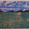 """""""Ode an die Endlichkeit""""     Holzschnitt, 39 x 53 cm"""