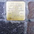 Monumento itinerante olocausto