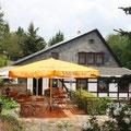 Biergarten, Meschkes Gasthaus, Hohnstein/Sächs. Schweiz