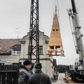(0348) Neue Turmspitze und Sanierung der Kirche, 2002/3