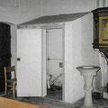 (0475) Toilette in der Kirche, vor der Sanierung; Foto: Ingenieurbüro Jeschke