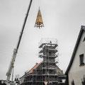 (0353) Neue Turmspitze und Sanierung der Kirche, 2002/3