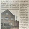 Kita wird geschlossen, Gransee Zeitung 6.3.2002