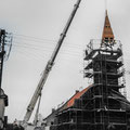 (0367) Neue Turmspitze und Sanierung der Kirche, 2002/3