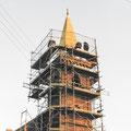 (0364) Neue Turmspitze und Sanierung der Kirche, 2002/3