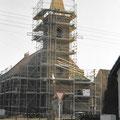 (0363) Neue Turmspitze und Sanierung der Kirche, 2002/3