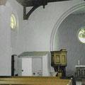 (0474) Toilette in der Kirche, vor der Sanierung; Foto: Ingenieurbüro Jeschke