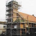 (0469)  Neue Turmspitze und Sanierung der Kirche, 2002/3