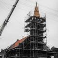 (0355) Neue Turmspitze und Sanierung der Kirche, 2002/3