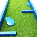 Location jeux de mini-golf portatif pour des fêtes privées ou publics.