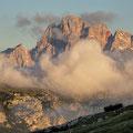 Cadini-Gruppe von der Auronzo-Hütte aus