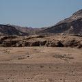 Doleritgang an der Welwitschiaplain