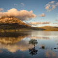Dunlewy Lough mit Mount Errigal