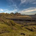 An der 214 nach Pakgil; Blick ins Tal des Mulakvisl und der Affretisa
