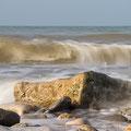 Am Strand von Port en Bessin