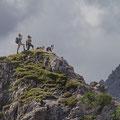 Hier ist der Berg zu Ende - Höhersteigen auf eigene Gefahr! :-)