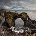 Gatklettur Sea Arch in Anarstapi